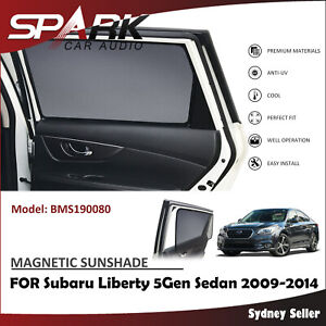 MAGNETIC CAR WINDOW SUN SHADE BLIND REAR FOR SUBARU LIBERTY 5GEN SEDEN 2009-2014