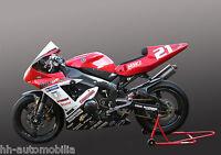 Yamaha Rennmotorrad DINA4 Poster Foto Motorrad Rennmaschine race motorcycle (2)