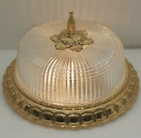 Plafoniere Ø26cm Decken Lampe Antik Stil Flush Mount Dome Led Light Ceiling Lamp
