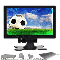 "Mini 10"" LCD CCTV PC Monitor HD Bildschirm HDMI AV VGA Eingang 1024*600 Redner"