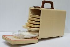 Vtg Retro Thermos Picknick Koffer Travel Portable Camping Picnic Box Case - 250
