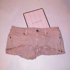 Victoria Secret Shorts  Cheeky Size 6 Pink Denim Cutoff