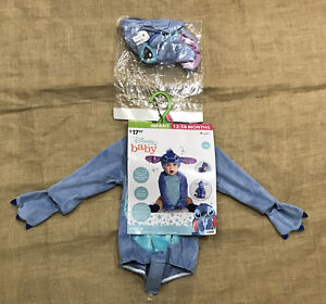 Disney Baby Stitch Halloween Costume Infant Size 12-18 Months