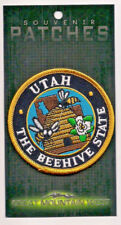 The State of Utah The Beehive State Souvenir Patch