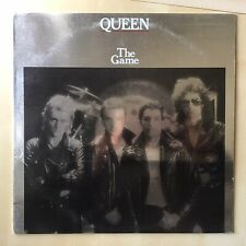Queen The Game LP White LABEL Promo machine stamped mastered Zentz VG+