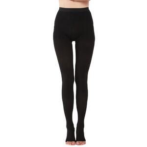Medical Compression Pantyhose Open Toe Stockings Varicose Veins,20-30 mmHg Women