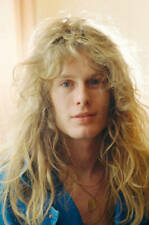 Thin Lizzy 1983 in Japan John Sykes OLD PHOTO