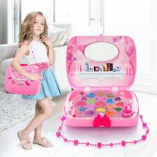 UK ❤ Cute Girls Princess Pretend Makeup Set Make Up Kids Simulation Children Toy