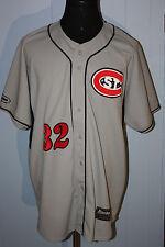 Team Issued Minnesota St Cloud State Huskies Sewn Baseball Jersey 2XL