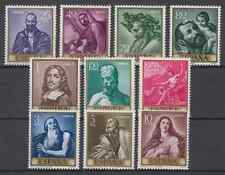 ESPAÑA (1963) NUEVO MNH SPAIN - EDIFIL 1498/07 Sc# 1159/68 PINTURAS DE RIBERA