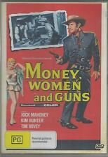 MONEY WOMEN AND GUNS - JACK MAHONEY  NEW SEALED ALL REGION DVD
