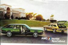 AMC Hornet Sportabout Dealer Postcard  Unposted