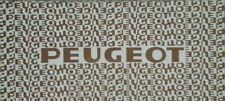 Peugeot All Models Sales Brochure - 1980