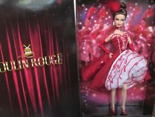 """2011 BARBIE DOLL """"MOULIN ROUGE"""" GOLD LABEL NEW  MINT/NRFB  SHIPPER"""