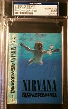 Nirvana Krist Novaselic Signed Nevermind Tape Cover PSA/DNA AUTOGRAPH
