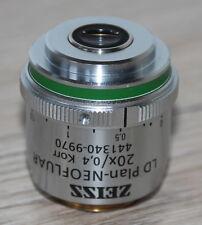 Zeiss MICROSCOPIO Microscope obiettivamente LD piano-Neofluar 20x/0,4 Korr (441340-9970)