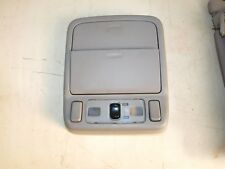 2004 Subaru forester front interior lights/sunroof switch and compartments