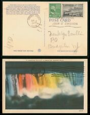 Mayfairstamps Canada Fdc 1951 Us Mixed Franking Niagara Falls first Day Cover 29