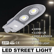 100W LED Street Road Outdoor Yard Flood Light Active High Power Cold white