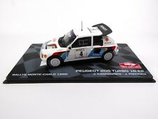 Peugeot 205 Turbo 16 E2 Monte Carlo 1986 Kankkunen 1:43 RALLYE MODELLAUTO RB7