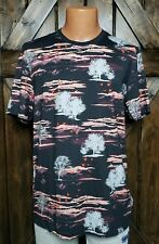 Ted Baker T-Shirt Dark Red Print NWT Men's size 5