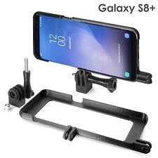 Tripod Mount funda para Samsung Galaxy s8+ trípode GoPro selfie Stick adaptador Case