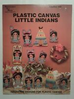Little Indians ~ Boy Girl Teepee Tissue Cover & More plastic canvas patterns