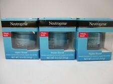 3 NEUTROGENA HYDRO BOOST WATER GEL TRIAL SIZE 0.5 OZ EA EXP 2/22 JL 10116