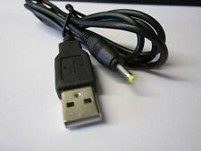 5V USB Cable Lead Cord Charger for Eken W70 WM8850 ARM Cortex-A9 Android Tablet