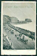Napoli Città Esposizione d'Igiene STRAPPO cartolina XB0988
