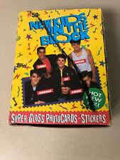 New Kids on the Block 36 Topps Cards And Stickers