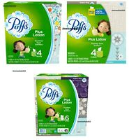 Puffs Plus Lotion Facial Tissue - Choose your Type/Count - FREE EXPEDITED SHIP