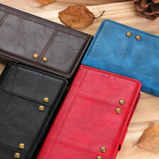 For LG Stylo 5 Q60 W30 W10 V40 V50 OnePlus 7 PU Leather Flip Wallet Case Cover