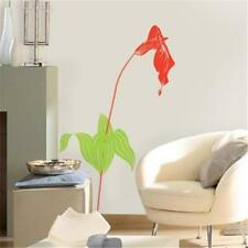 LARGE LILY FLOWER WALL DECALS RED CALLA LILY Sticker Room Decoration Wall Mural