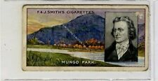 (Ga6247-249) Smith, Famous Explorers, #8 Mungo Park 1911 F-G