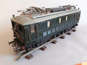 J.FOURNEREAU Locomotive électrique BB 300 en métal - 3 rails - Échelle 0