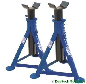 Draper Tools 54721 AS2000 Pair Expert Axle Stands 2 Tonne Each 520mm High New