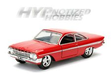 JADA 1:24 FAST AND FURIOUS DOM'S CHEVROLET IMPALA DIE-CAST RED 98426