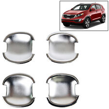 FIT FOR 2011~~ 2015 KIA SPORTAGE CHROME DOOR HANDLE BOWL COVER TRIM MOLDING