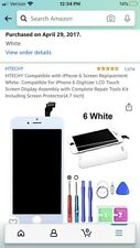 iPhone 6 LCD Screen Replacement Digitizer 4.7inch White