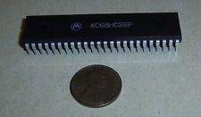 Rare Motorola Xc68Uc26P Microprocessor in Unusual Dip-48 Package