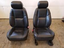 10 11 Cadillac Escalade Yukon Denali Front Leather Power Seats Heated Cooled