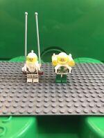 LEGO Classic Vintage Space Astronaut Minifigure With Accessories Jetpack Bundle