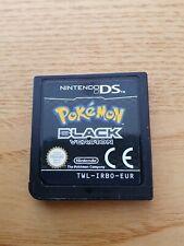 Pokemon Black Nintendo Ds Game No Box