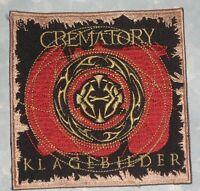Crematory Klagebilder Patch - Gothic-Metal Music - Germany