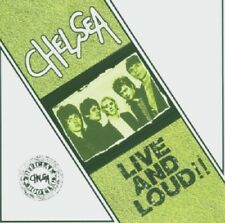 Chelsea Live And Loud CD NEW SEALED Punk Right To Work/Urban Kids/The Loner+