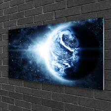 Wandbilder aus Plexiglas® 100x50 Acrylglasbild Erdball Weltall