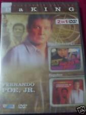 Tagalog/Filipino Movie: FPJ  2 IN 1 DVD Isang Bala Ka Lang 2 / Hagedorn