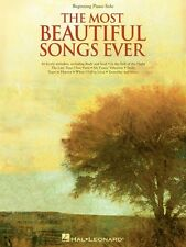 The Most Beautiful Songs Ever Sheet Music Beginning Piano Solo SongBoo 000110402