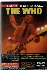 LICK LIBRARY Learn To Play THE WHO Pinball Wizard ROCK RIFFS Guitar Tuition DVD